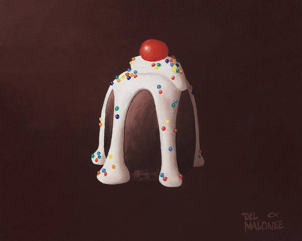 Painting - Chocolate Party by Del Malonee