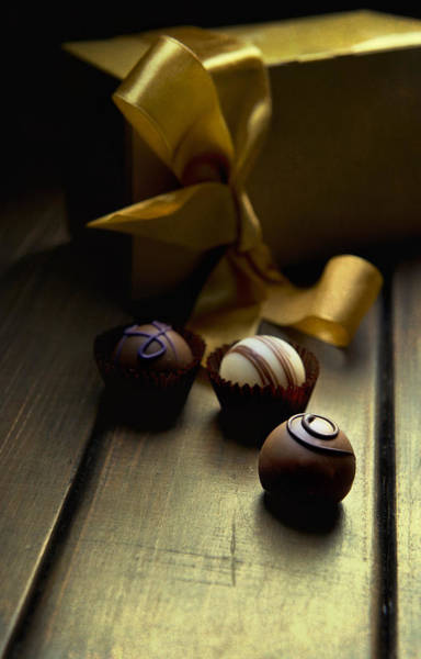 Wall Art - Photograph - Chocolate Pleasure by Jaroslaw Blaminsky