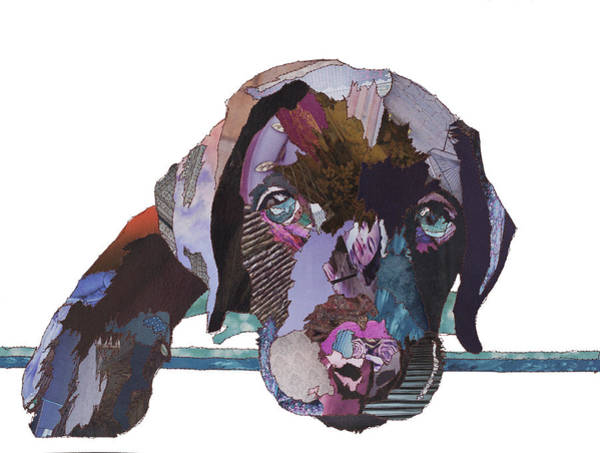 Stitch Painting - Chocolate Puppy by MGL Meiklejohn Graphics Licensing