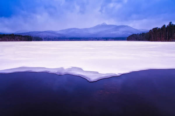 Photograph - Chocorua Reflected In Ice And Snow by Jeff Sinon