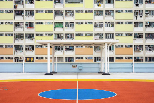 Sin Photograph - Choi Hung Estate, One Of The Oldest by Jason Langley