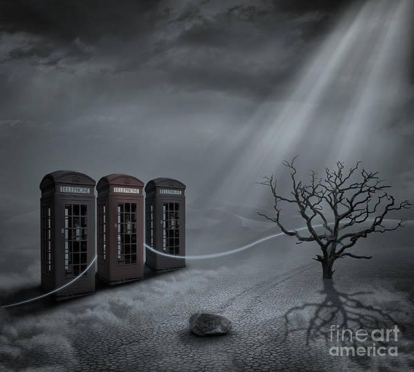 Monsoon Photograph - Choices by Keith Kapple