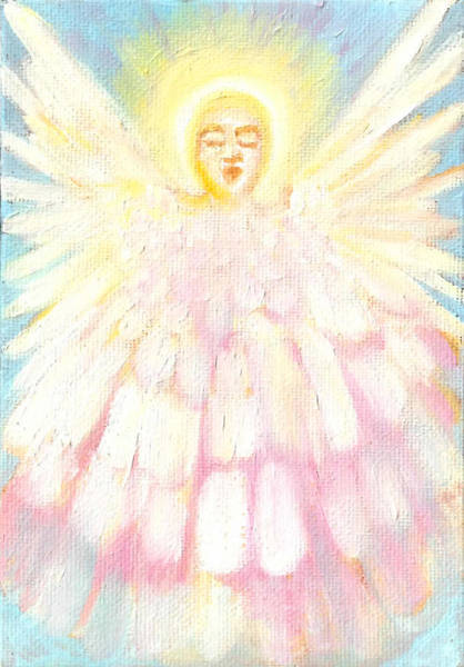Painting - Choiring Angel by Anne Cameron Cutri