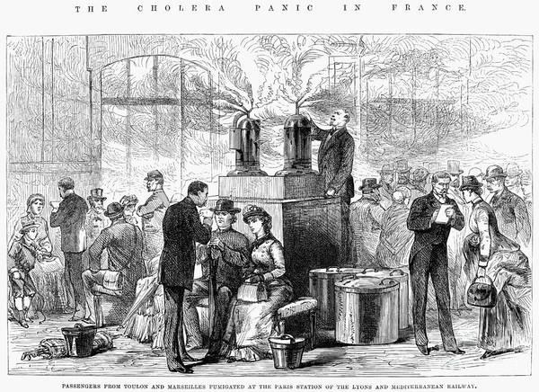 Wall Art - Photograph - Cholera: 1884 Epidemic by Granger