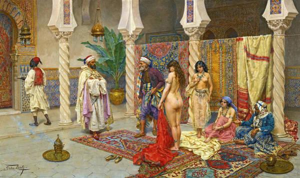 Giulio Painting - Choosing The Favourite by Giulio Rosati