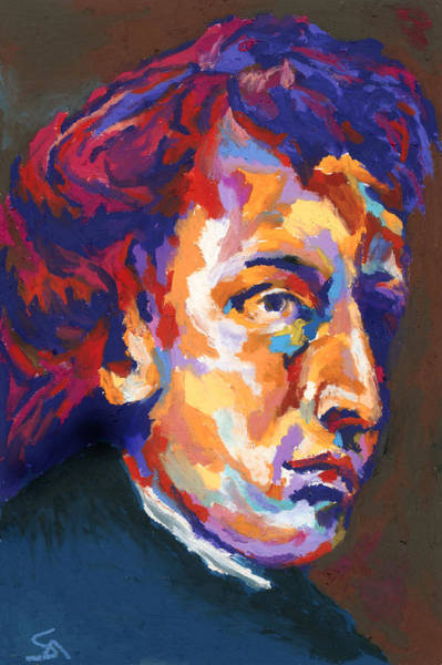 Wall Art - Painting - Chopin by Stephen Anderson
