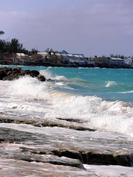 Photograph - Choppy Bahamas Ocean by Kimberly Perry