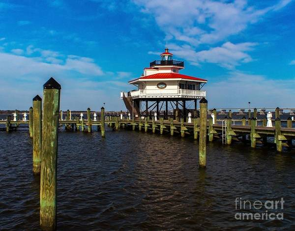 Photograph - Choptank River Lighthouse by Nick Zelinsky