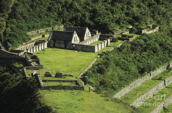 Photograph - Choquequirao by James Brunker