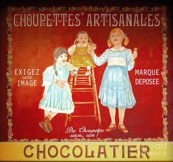 Photograph - Choupettes Artisanales Store Sign by RicardMN Photography