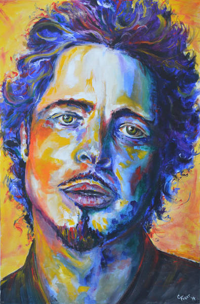 Wall Art - Painting - Chris Cornell by Chris Figat