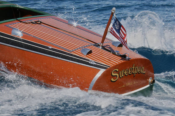 Photograph - Chris-craft Barrelback by Steven Lapkin