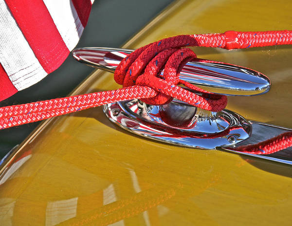 Photograph - Chris Craft Woodie by Steven Lapkin