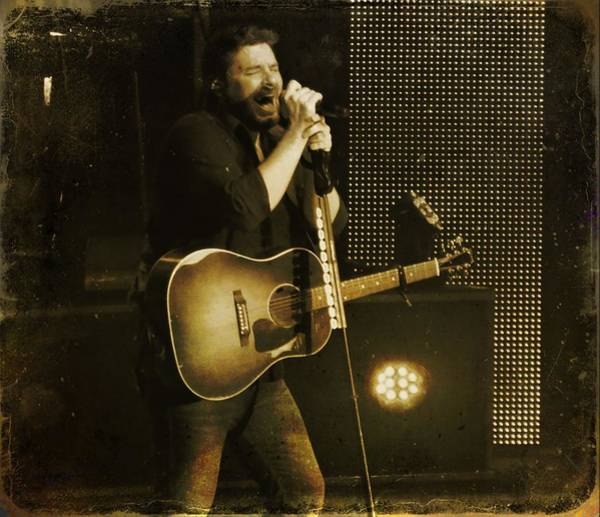Tab Photograph - Chris Young by Dan Sproul
