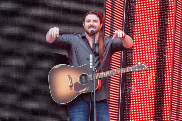 Summerfest Photograph - Chris Young by Mike Burgquist