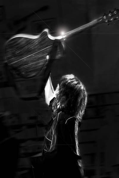 Chrissie Hynde Encore By Denise Dube Art Print