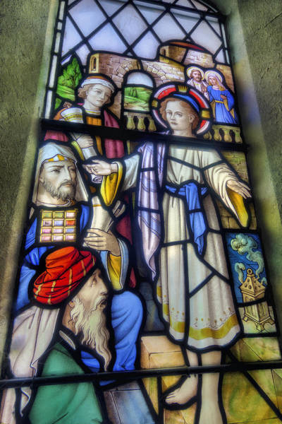 Photograph - Christ Among The Doctors by Ian Mitchell