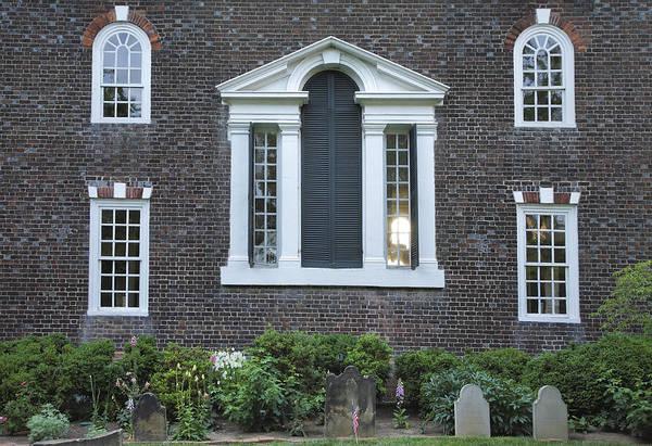 Historical Marker Photograph - Christ Church Episcopal Iv by Steven Ainsworth