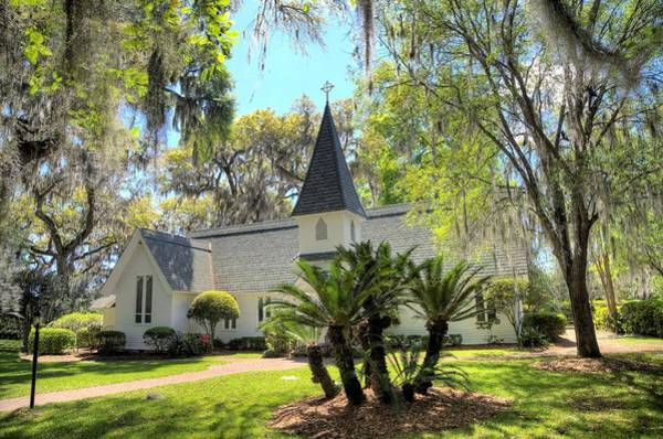Photograph - Christ Church Frederica by Gordon Elwell