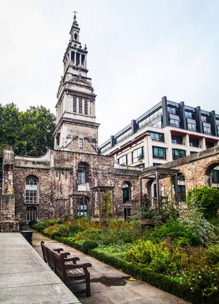 Photograph - Christ Church Greyfriars Garden by Ross Henton