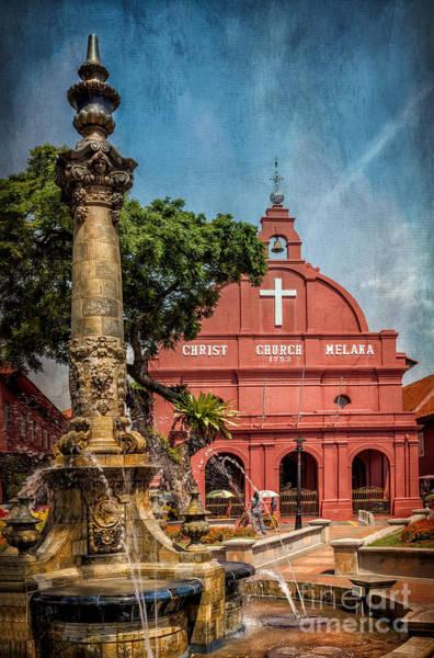Photograph - Christ Church Malacca by Adrian Evans