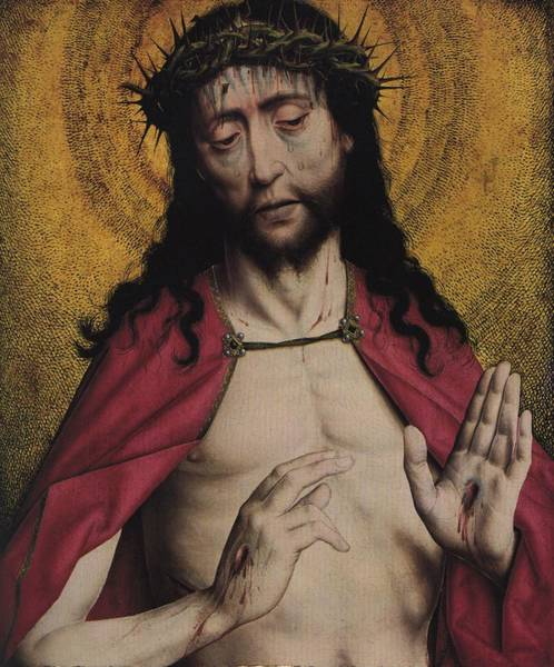 Parable Visions Wall Art - Painting - Christ Crowned With Thorns by American Classic Visions Gallery
