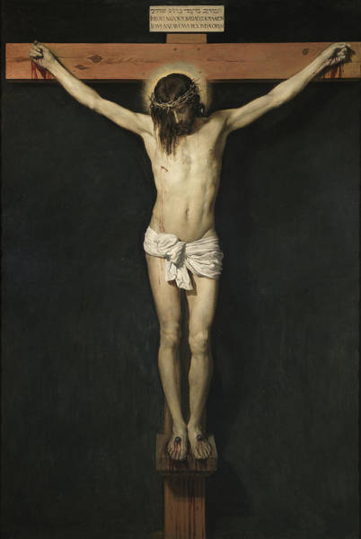 Old Masters Digital Art - Christ Crucified by Diego Rodriguez de Silva Velazquez