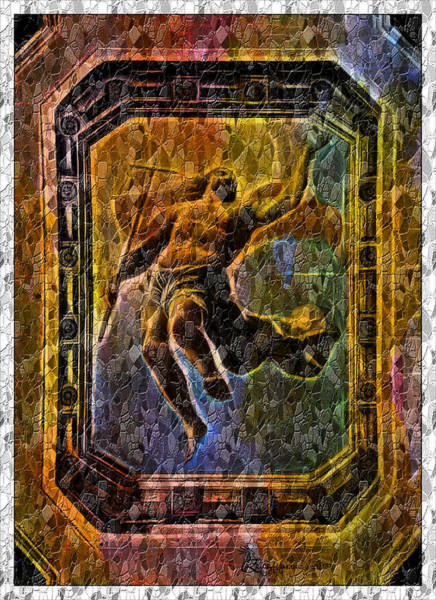 Photograph - Christ Mosaic-featured Cards For All Occ- Artists Of Western And Upstate Ny-comfortable Art Groups   by Ericamaxine Price