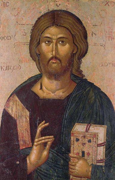 Church Of The Cross Painting - Christ The Redeemer by Byzantine School
