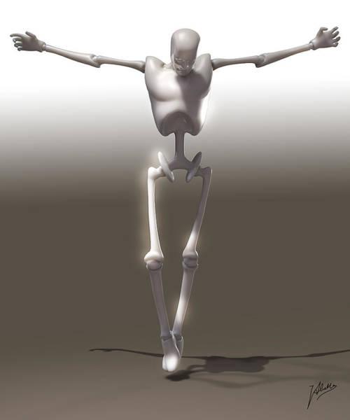Wall Art - Digital Art - Christ Mechanical by Quim Abella