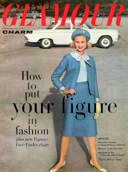 Glamour Photograph - Christa Vogel On The Cover Of Glamour by Frances Mclaughlin-Gill