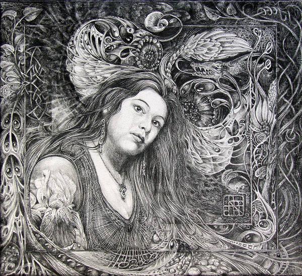Christan Portrait Art Print