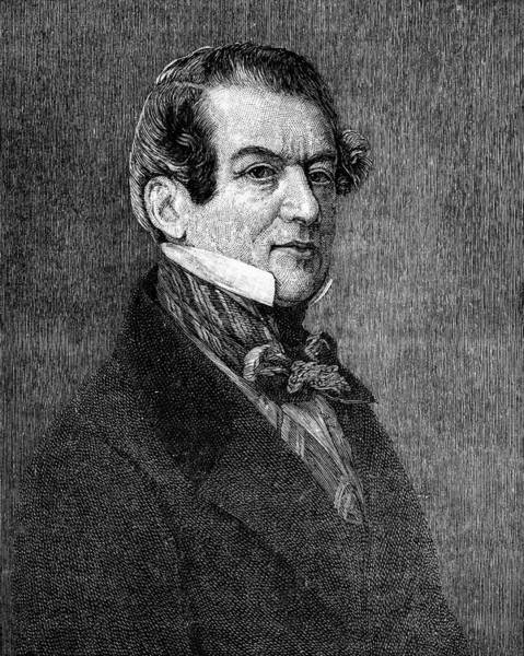 Wall Art - Drawing - Christian Friedrich Baron Von Stockmar by Mary Evans Picture Library