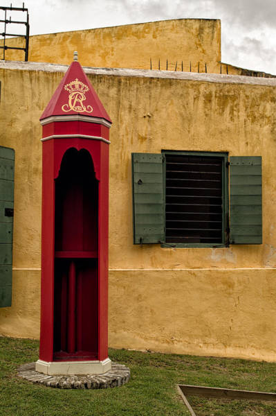 Sentry Box Photograph - Christiansted Sentry Box by Mark Summerfield