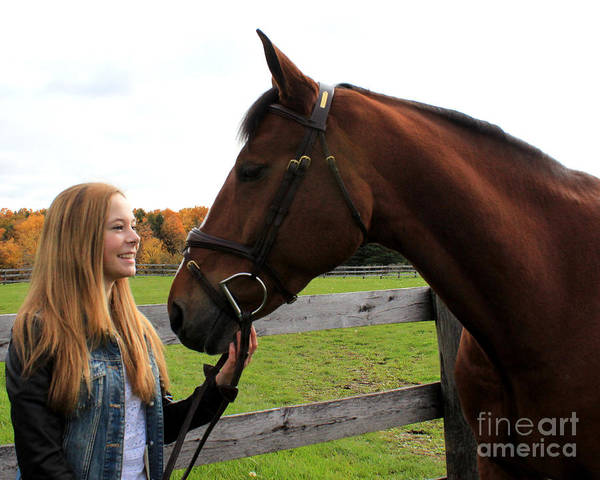 Photograph - Christine Bailey 14 by Life With Horses