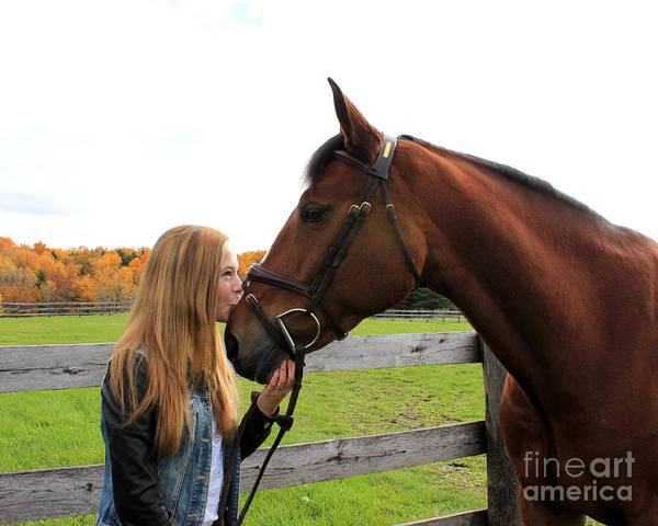 Photograph - Christine Bailey 15 by Life With Horses