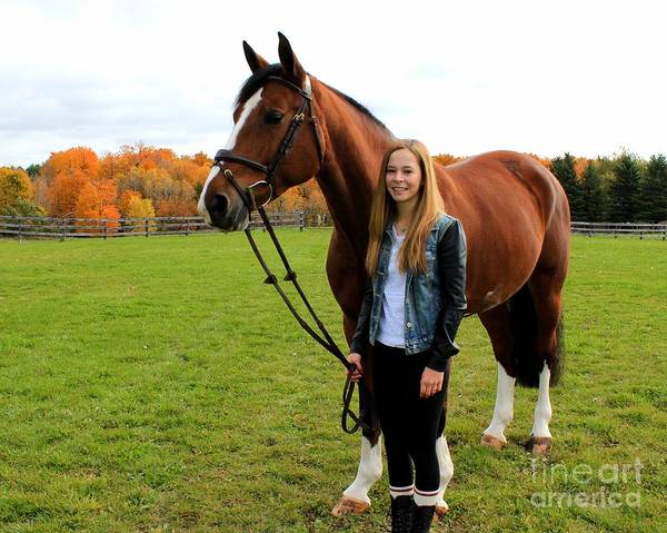 Photograph - Christine Bailey 21 by Life With Horses