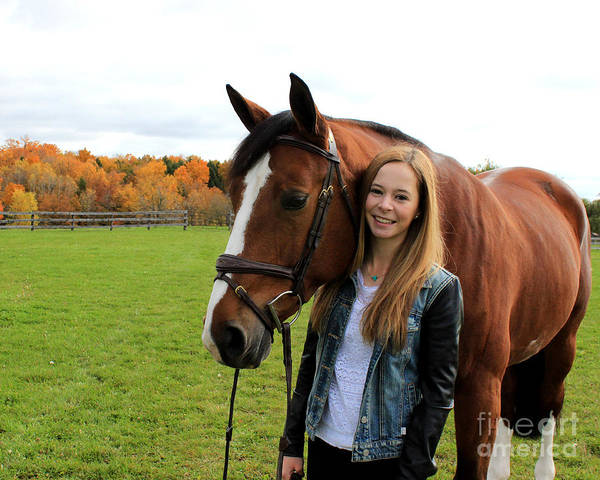 Photograph - Christine Bailey 22 by Life With Horses