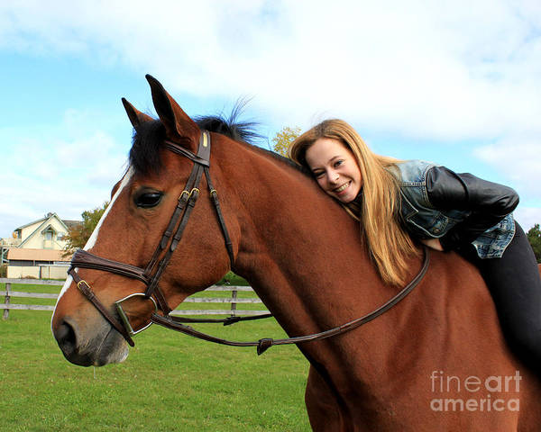 Photograph - Christine Bailey 26 by Life With Horses