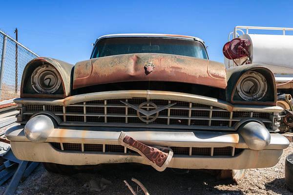 Indio Photograph - Forgotten 53 Packard by Scott Campbell