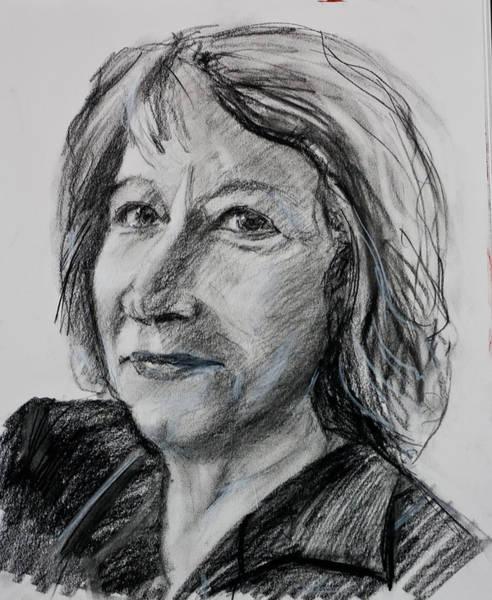 Drawing - Christine by Maxim Komissarchik