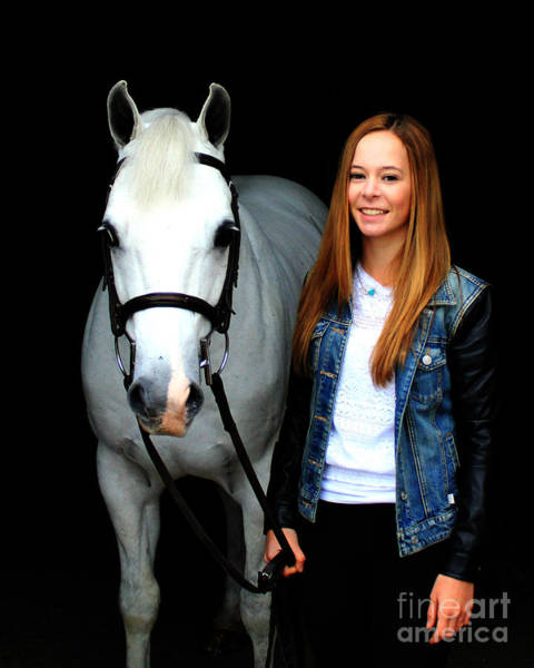 Photograph - Christine Sky 1 by Life With Horses