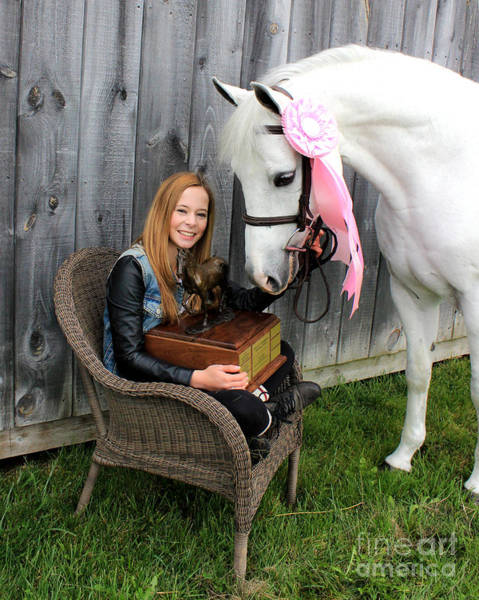 Photograph - Christine Sky 17 by Life With Horses
