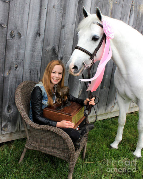 Photograph - Christine Sky 18 by Life With Horses