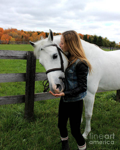 Photograph - Christine Sky 20 by Life With Horses