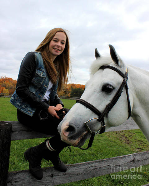 Photograph - Christine Sky 21 by Life With Horses