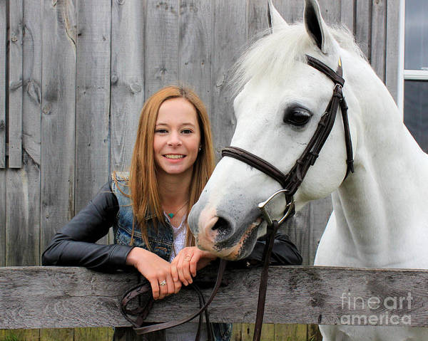 Photograph - Christine Sky 33 by Life With Horses