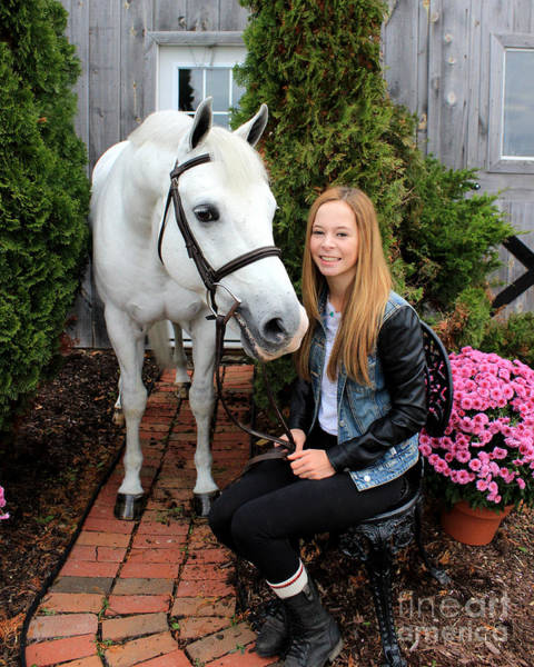 Photograph - Christine Sky 4 by Life With Horses