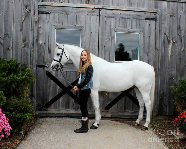 Photograph - Christine Sky 7 by Life With Horses