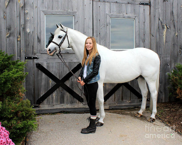 Photograph - Christine Sky 8 by Life With Horses